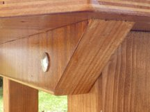 dovetail batten on table